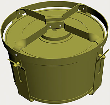 Рисунок противотанковой мины A/TK Mine G.S.Mk-V