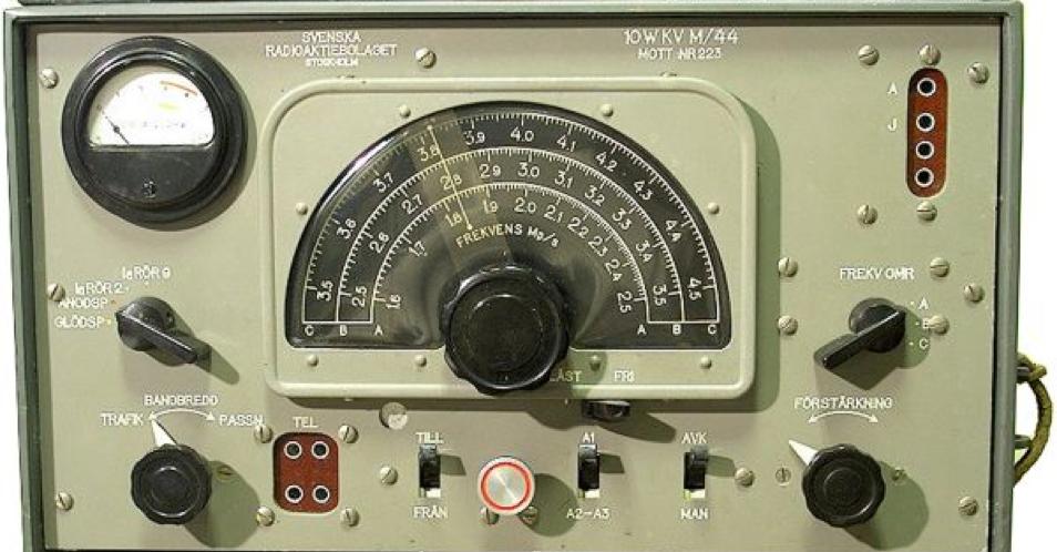 Приемник из комплекта радиостанции 10W KV-44
