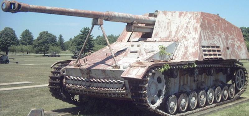 Противотанковая САУ 8.8-cm PaK 43/1 auf PzKpfw-IV (Nashorn)