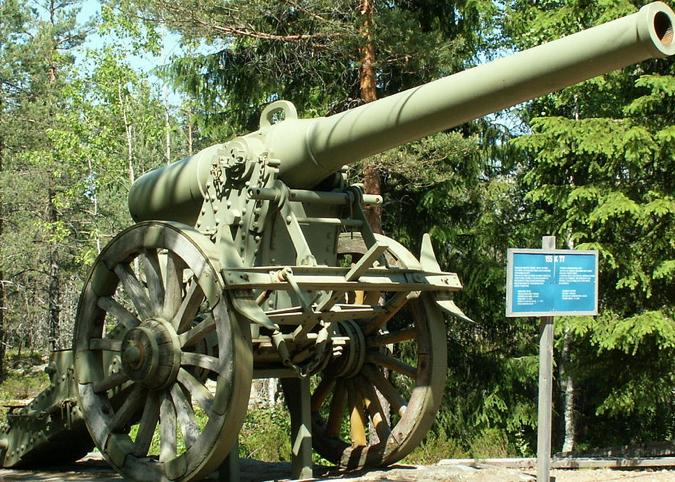 Полевая пушка 155 mm L. mle. 1877