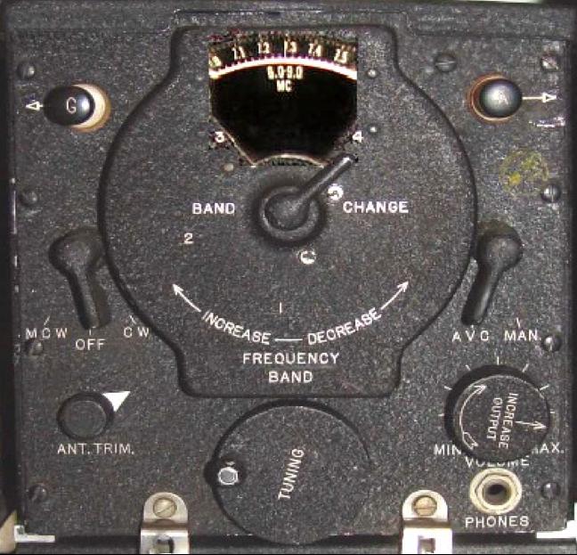 Приемник из слежечного комплекта RAX-1