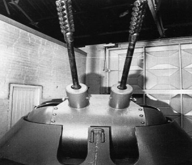 Башня ЗСУ 3-cm MK-103 Zwilling