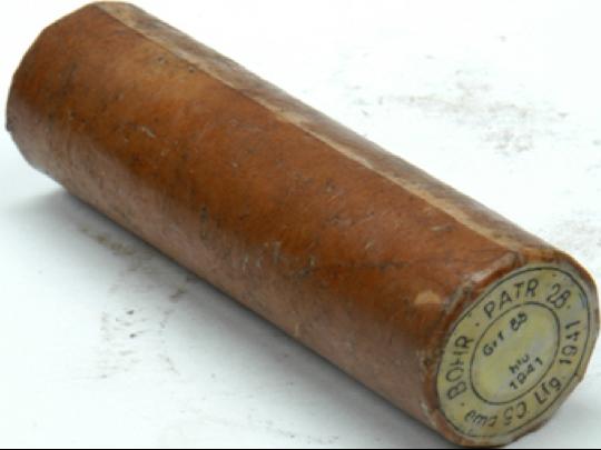 Шашка Bohrpatrone 28 в вощеной бумаге
