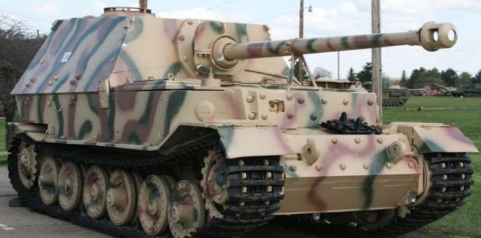 САУ 8,8 cm PaK 43/2 Sfl L/71 Panzerjäger Tiger (P)