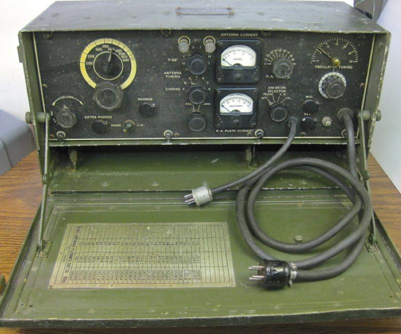 Носимая радиостанция SCR-288/BC-474