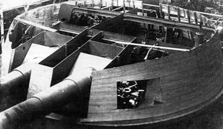305-мм двухорудийная башенная установка «МБ-2-12»