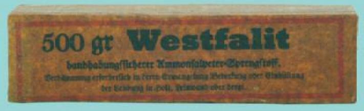 Шашка 500 gram Westfalit charge