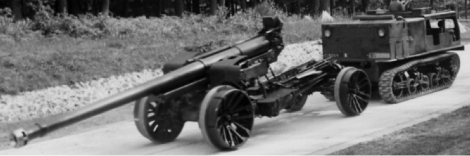 Пушка  Canon de 155mm   Mle 1932  Schneider