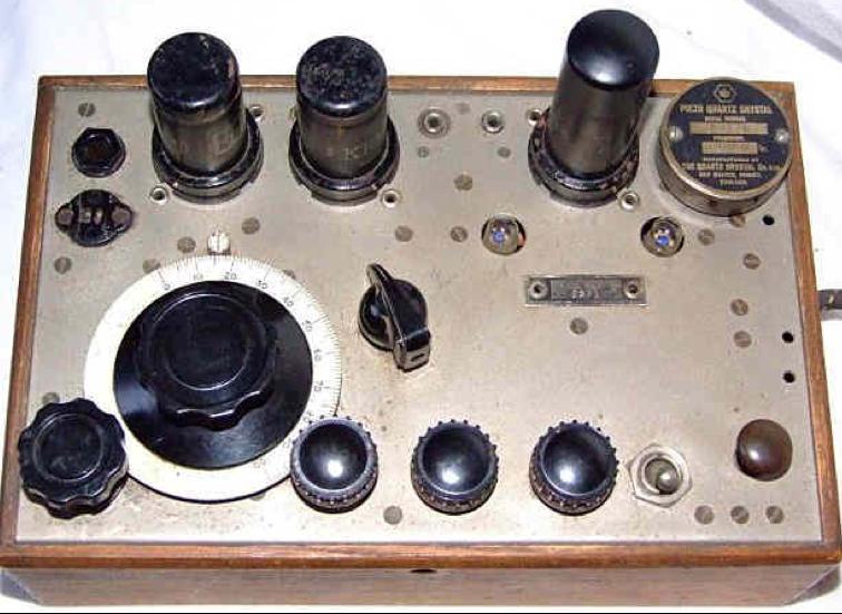 Передняя панель радиостанция Whaddon Mk-VII