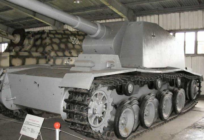 САУ 12,8cm Panzer Selbstfahrtafette-V L/61 Sturer Emil