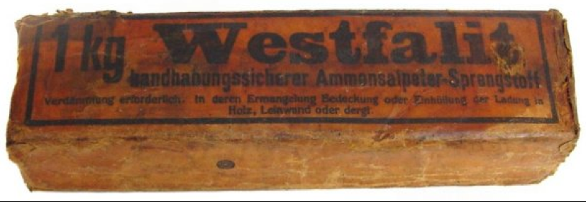 Шашка 1kg Westfalit charge