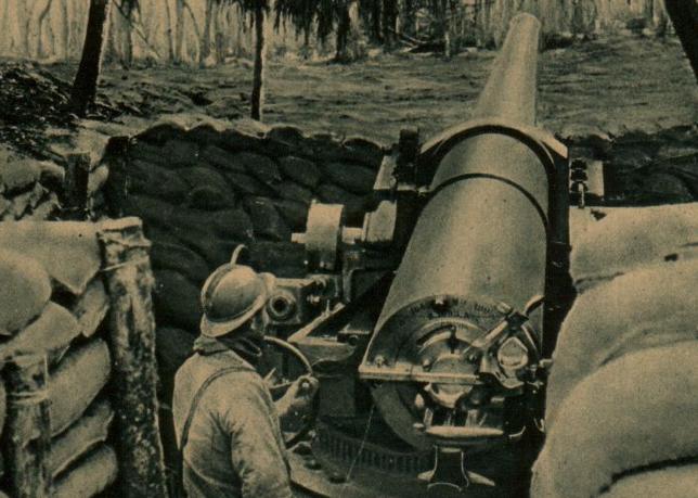 Береговое орудие Canon de 164 mm Modèle 1893