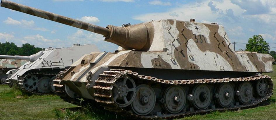 САУ Panzerjäger Tiger (Jagdtiger)