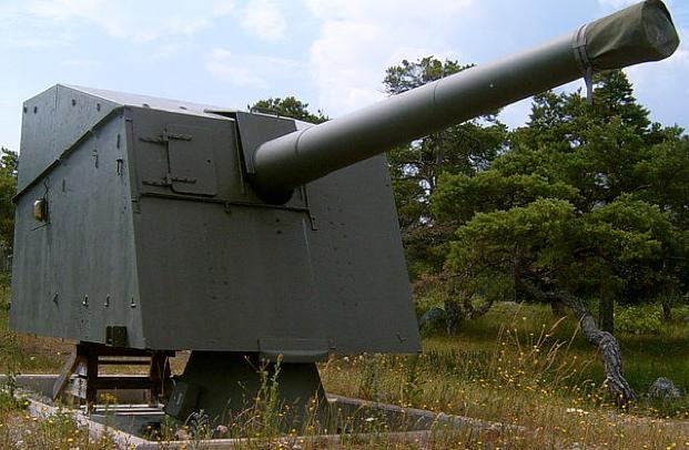 Пушка 15,2-cm kanon m/98