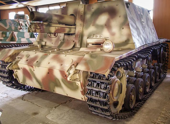 САУ Sturm-Infanteriegeschütz 33-B (StuIG 33-B)