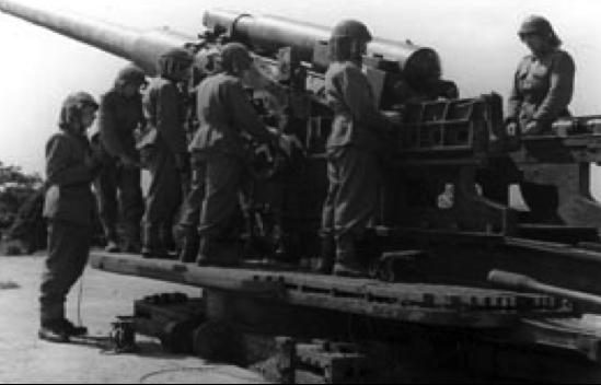 Пушка 21cm Kanon m/42