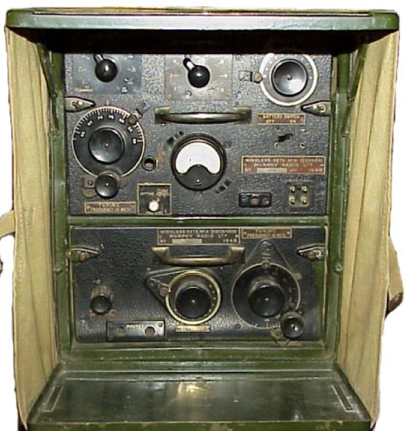 Ранцевая радиостанция Wireless Set  №8