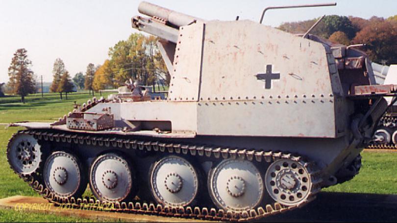 САУ G.W.38 für SIG-33/2 (Sf.) (Grille)