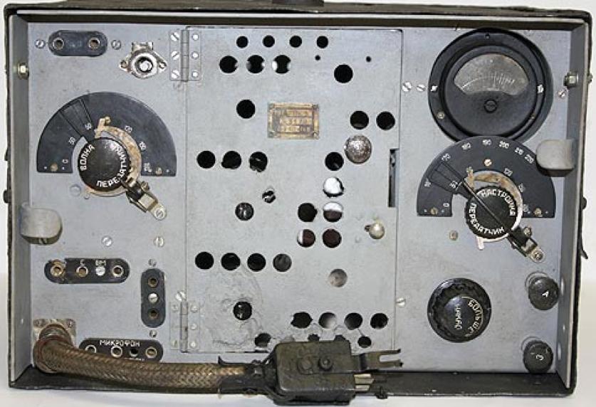 Передатчик танковой радиостанции 71-ТК-3