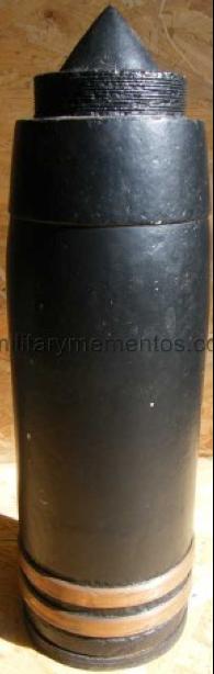 Справа снаряд 150-мм