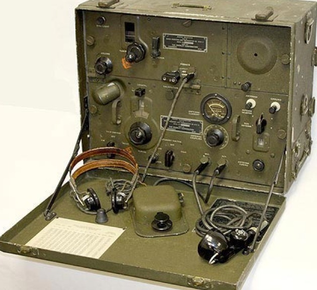 Переносная радиостанция SCR-284/ВС-654-А