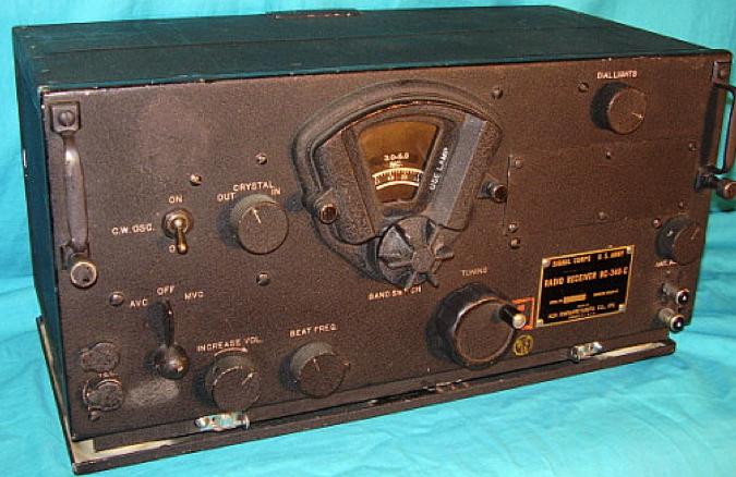 Авиационный приемник BC-348-C