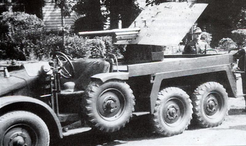 САУ 3.7cm PaK-35/36 auf Zugkraftwagen 1t.