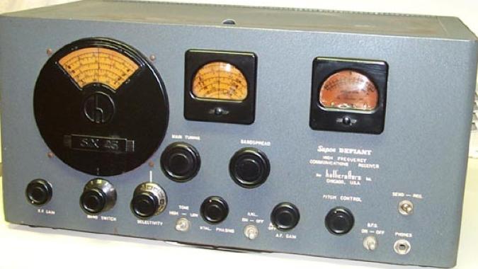 Приемник Hallicrafters SX-25