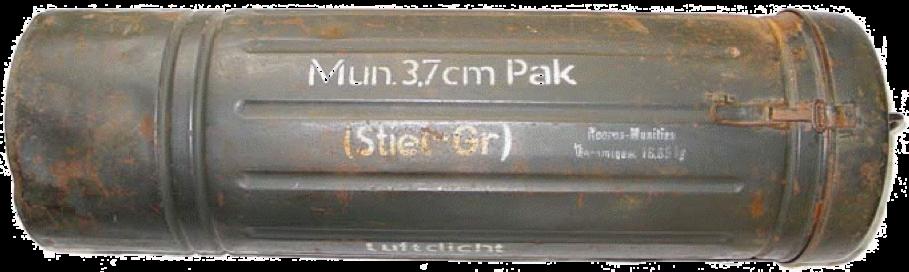 Контейнер для мины 37-мм