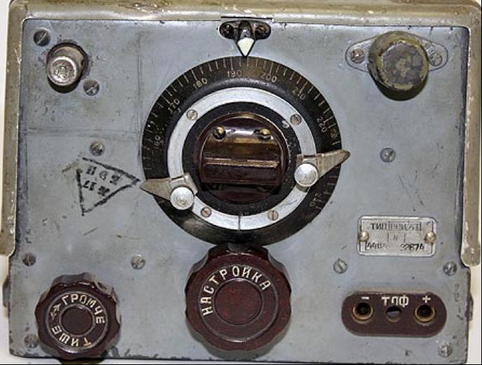 Танковая радиостанция 9-Р. Приемник РСИ-4Т.