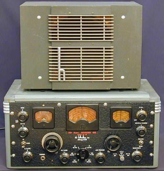 Приемник Hallicrafters SX-28