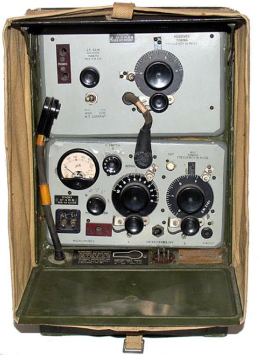 Ранцевая радиостанция Wireless Set №18 Mk-III