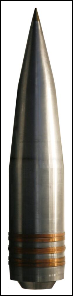Модель снаряда 380-мм