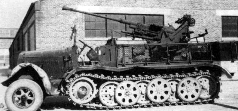 ЗСУ Sd Kfz-6/2