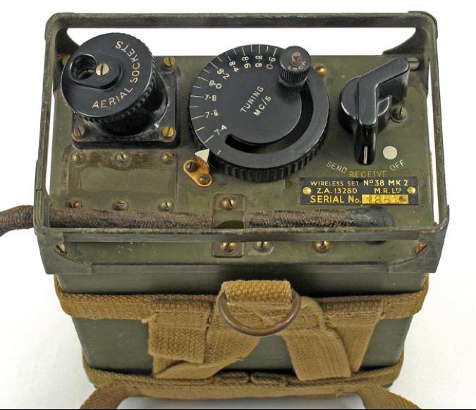 Ранцевая радиостанция Wireless Set №38 Mk-II
