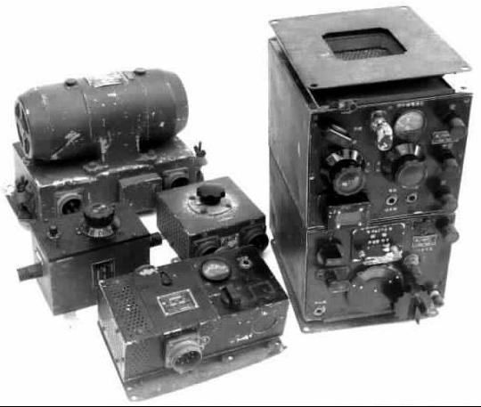 Радиостанции Type 99-3 с мотто-генератором