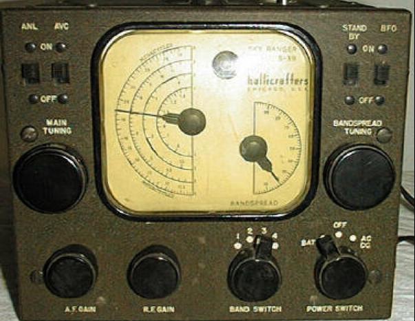 Приемник Hallicrafters S-39