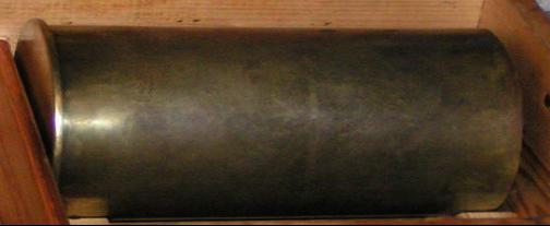 Снаряд, гильза и взрыватель 150-мм боеприпаса