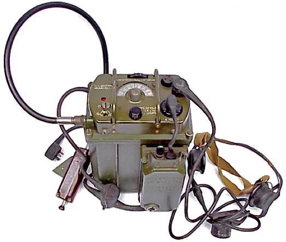 Ранцевая радиостанция Wireless Set №38 Mk-III