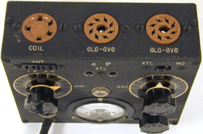 Комплект радиостанции: приемник, передатчик и блок питания
