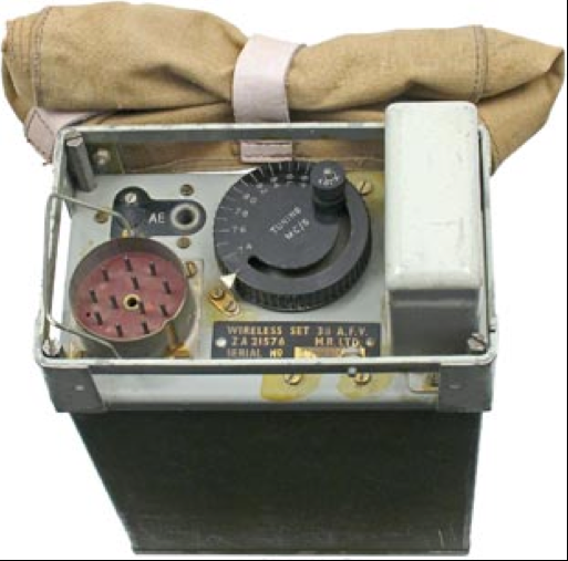 Ранцевая радиостанция Wireless Set №38 AFV