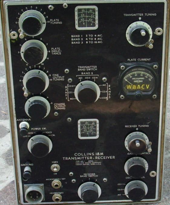 Портативная радиостанция TCH Collins 18-М