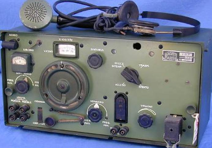 Танковая радиостанция RF-1CA (TR-7)