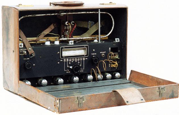 Портативный приемник пеленгования ВС-792 (SCR-504)