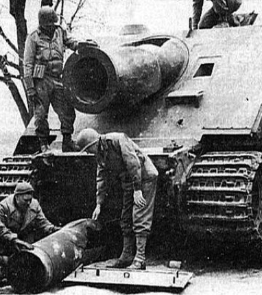380-мм фугасная ракета «Sturmtiger»