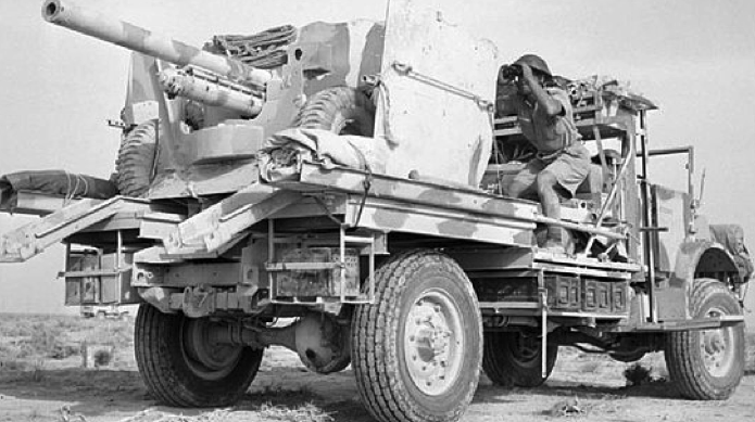 Противотанковая САУ «Deacon» (AEC Mk-I Gun Carrier)