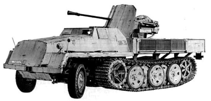 ЗСУ 37 mm Flak-43 auf sWS