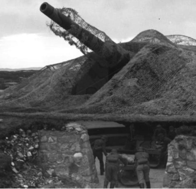 Береговое орудие 28-cm  SK L/45 gun
