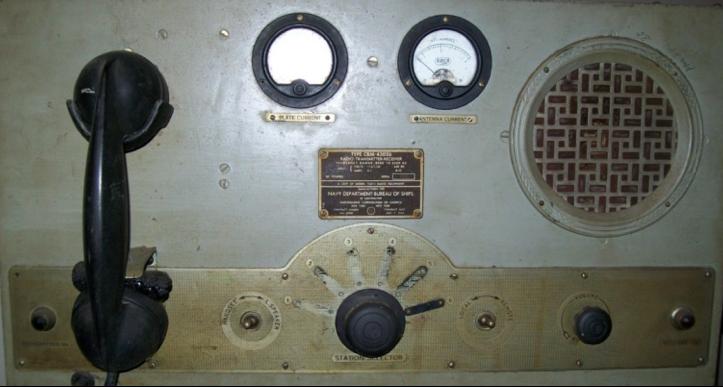 Корабельная радиостанция TCO-2