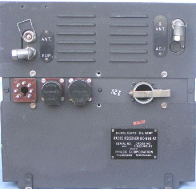 Передатчик BC-966 IFF Unit (Mk 3G)